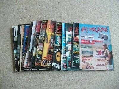 UFO MAGAZINE x 14 Issues - Dates Ranging from 1995 - 2003 Excellent Condition!!