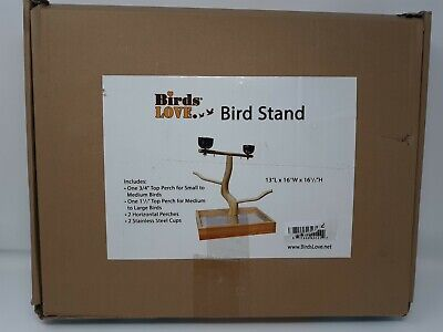 Birds LOVE Tabletop T-Stand Deluxe Play Gym Bird Stand Open Box