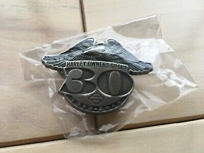 "Harley-Davidson ""2013 HOG 30th Anniversary 1983-1013"" Official Vest Pin"