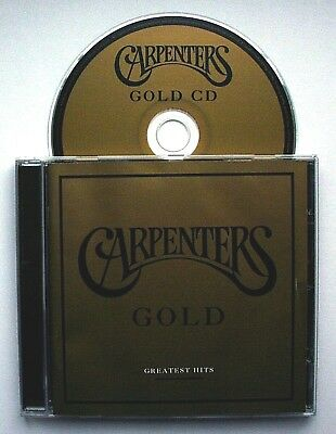 THE CARPENTERS - GOLD [Greatest Hits](CD 2002) Carole King/Barry Manilow