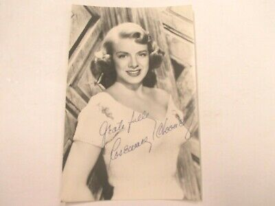 ROSEMARY CLOONEY Autographed HAND SIGNED Hollywood Movie Small Photo