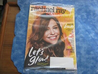RACHAEL RAY EVERY DAY MAGAZINE May 2019 FIRST-EVER BEAUTY ISSUE Fave Products