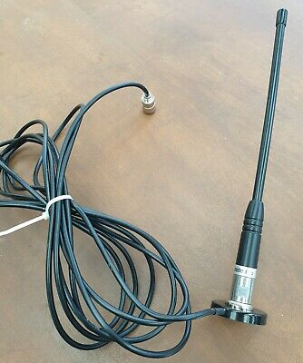 Uniden AT-380 UHF CB antenna with magnetic base, lead and plug