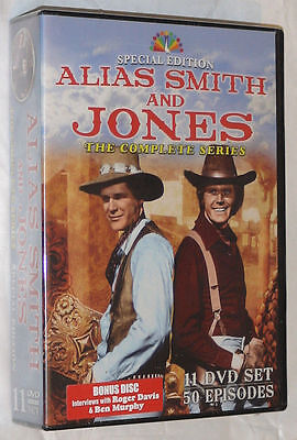 Alias Smith And Jones Serie Completa 1,2, 3 - Edición Especial - 11 DVD Caja De
