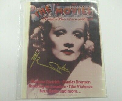 """MARLENE DIETRICH Autographed HAND SIGNED 11"""" X 14"""" Hollywood Movie Photo"""