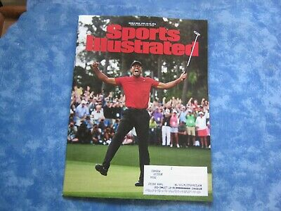 SPORTS ILLUSTRATED MAGAZINE April 22-29, 2019 Double Issue TIGER WOODS MASTERS