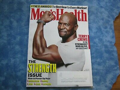 MEN'S HEALTH MAGAZINE May 2019 THE STRENGTH ISSUE Best Gear for Every Workout