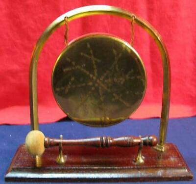 Vintage Gong on Stand with Beater