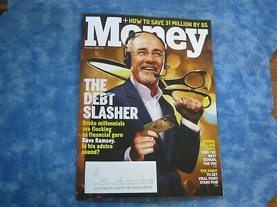 MONEY MAGAZINE May 2019 DAVE RAMSEY THE DEBT SLASHER How to Save $1 Mil. by 65