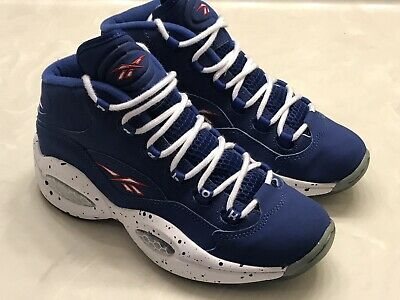 """2230926c185 Reebok Question Mid Allen Iverson """"Draft Day"""" 76ers Basketball Shoes Mens  sz 6.5"""