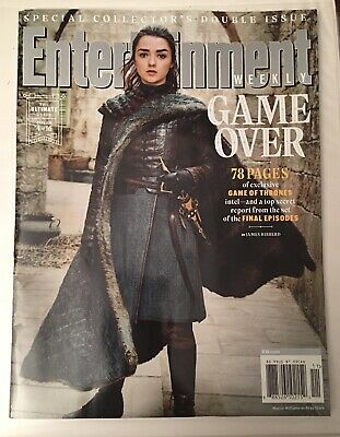 Entertainment Weekly Collectors 2019-Game of Thrones Cover # 4-ARYA STARK-Maise