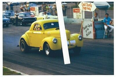 1960S DRAG RACING-1940 Willys C/Gas Coupe-