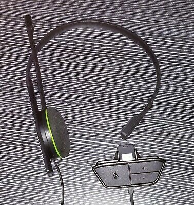 OEM Official Microsoft Xbox One Wired Chat Headset MODEL 1564 With Adapter