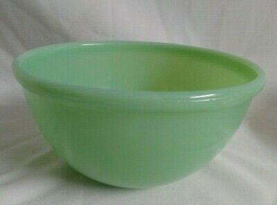 Vintage Fire-King Unmarked Green Jadeite Jadite Mixing Bowl 7 Inch
