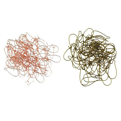HOT Wholesale 100 PCS Earring Hook DIY Jewelry Making Findings Coil Ear Wire