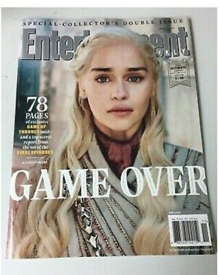 ENTERTAINMENT WEEKLY Magazine March 2019 Game of Thrones Cover 1 Daenerys Calisi