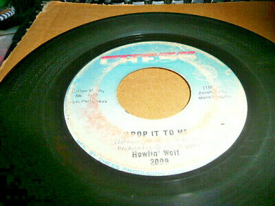 scarce record 45 The Howlin Wolf on Chess > POp it To me / I had a dream G-
