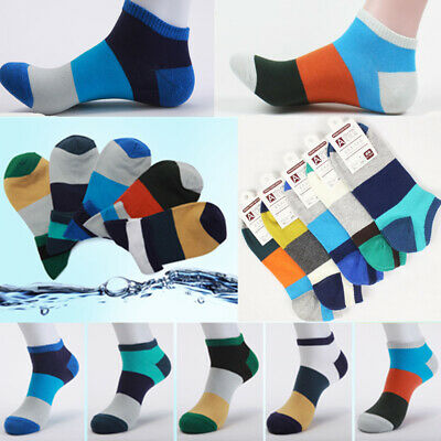 5 Pairs Cotton Socks Summer Ankle Sock Men Women breathable Sport Sock