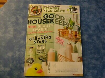 GOOD HOUSEKEEPING MAGAZINE May 2019 BEST-TESTED CLEANING STARS Dream Kitchen NEW