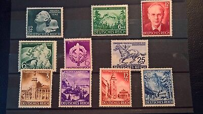 Germany Deutsche Reicht stamps various sets 1941-1943 MNH great value TOP