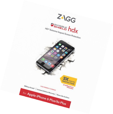 big sale 3931a c5dca ZAGG - INVISIBLESHIELD HDX Defense Screen Protector for Apple iPhone ...