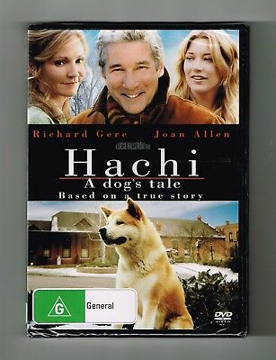 Hachi : A Dog's Tale Dvd Brand New & Sealed