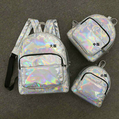 Laser Silver PU Leather Fabric Shiny Luggage Adorn Textile Materials By Yard New