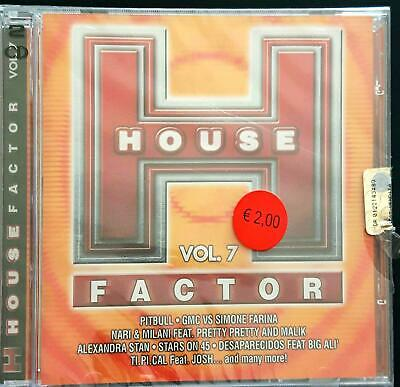 Various – House Factor Vol.7  Cd Sealed
