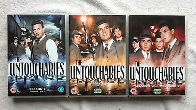 The Untouchables Complete Series Seasons 1,2,3 + Kevin Costner Classic Rare Dvd