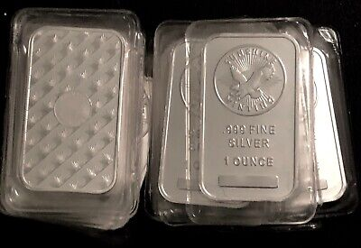 Lot Of 20 -  - Sunshine Mint Silver Bars - .999 Fine Silver - In Mint Packaging