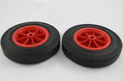 "8"" Sack Truck/Trailer/Gokart/Trolley/Wheelie Bin Wheels"