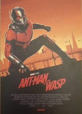 Ant-Man And The Wasp ODEON A4 Card Art Print High Quality Rare