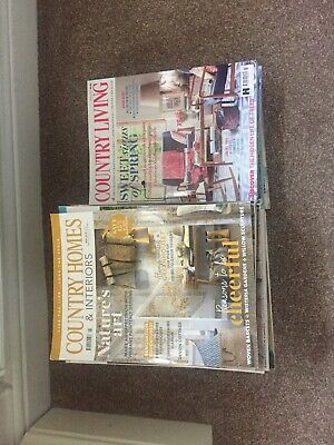 Country Homes & Interiors And Country living Magazine 45 Total