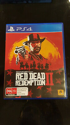 Red Dead Redemption II (2 disc) for PS4 (PlayStation 4) with map