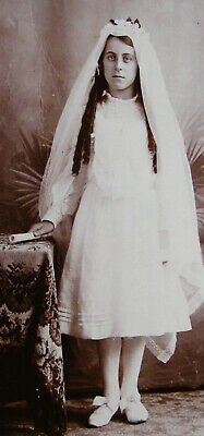 Cabinet Photo Of A Pretty Holy Communion Confirmation Girl Indian Orchard Mass