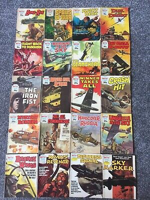 20 Battle Picture Library Comics Between Nos 1214 & 1518