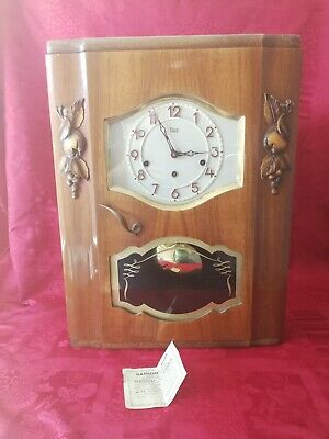 Carillon ODO 8 marteaux 8 tiges N°24 petit rouleau veritable westminster 1953
