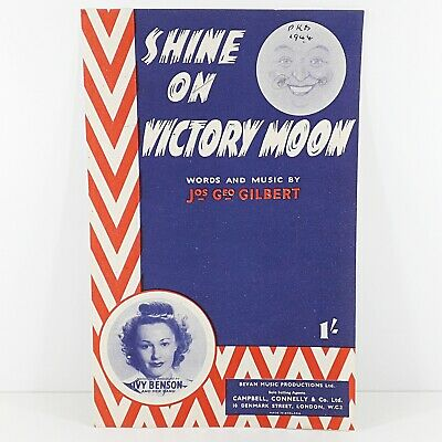 Shine On Victory Moon - Ivy Benson & Her Band - Vintage Sheet Music 1944