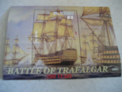ST. VINCENT & THE GRENADINES   2005  200th ANNIVERSARY 1805-2005 THE BATTLE OF T