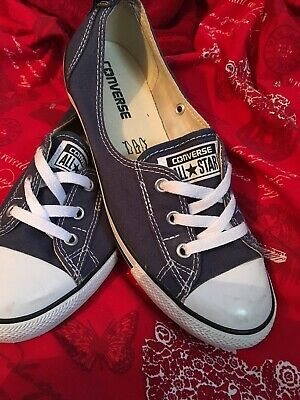 9462783c2d08c1 Converse Chuck Taylor All Star Ballet Lace Summer - Blue Size UK 6 - Used