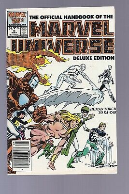 High Grade Canadian Newsstand Edition Marvel Universe Deluxe #5 $1.75 Price