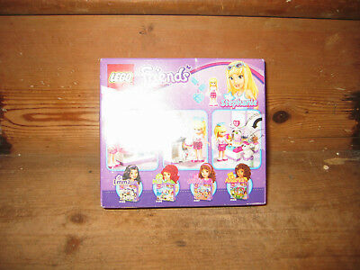 New Lego Friends Love Letter 1x2 White Printed Tile Envelopered