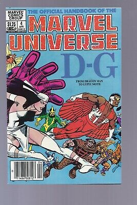 High Grade Canadian Newsstand Edition Marvel Universe #4 $1.25 Price
