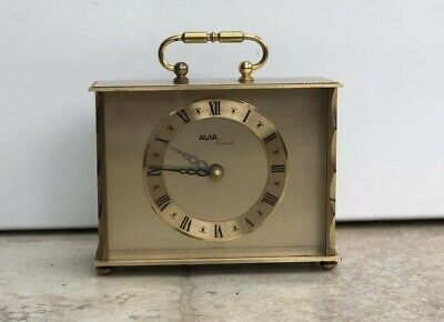 Vintage Avia Quartz Carriage Clock - Retro, Classic, Antique