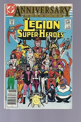 High Grade Canadian Newsstand Edition Legion of Super Heroes #300 $2.00 variant