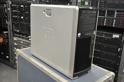 HP XW8600 2x Intel E5440 2.83Ghz Quad Core XEON 64GB RAM 1TB HD FX 3700 WIN10PRO
