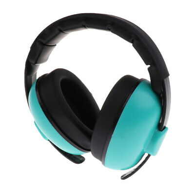 Noise Reduction Kids Earmuffs Loud Cancelling Hearing Safety Mint green