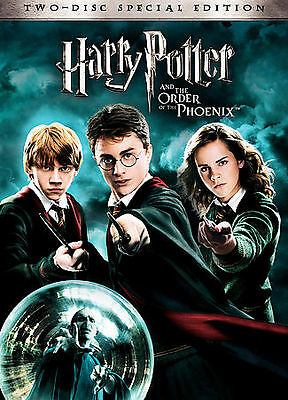 Harry Potter and the Order of the Phoenix (DVD, 2007, 2-Disc Set, Special...