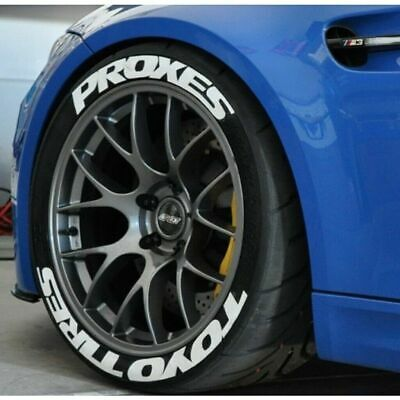 TOYO PROXES  Tire  Lettering permanent  Stickers / Decals Kit -SET IN 8 PiECES