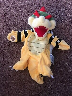 NEW Build-a-Bear BOWSER Super Mario Bros. Plush With Tags UNSTUFFED!